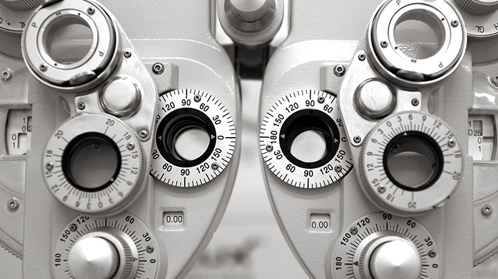 The history of eye exams