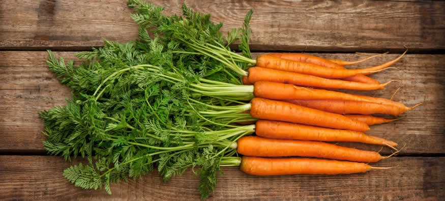 Do carrots help you see in the dark?