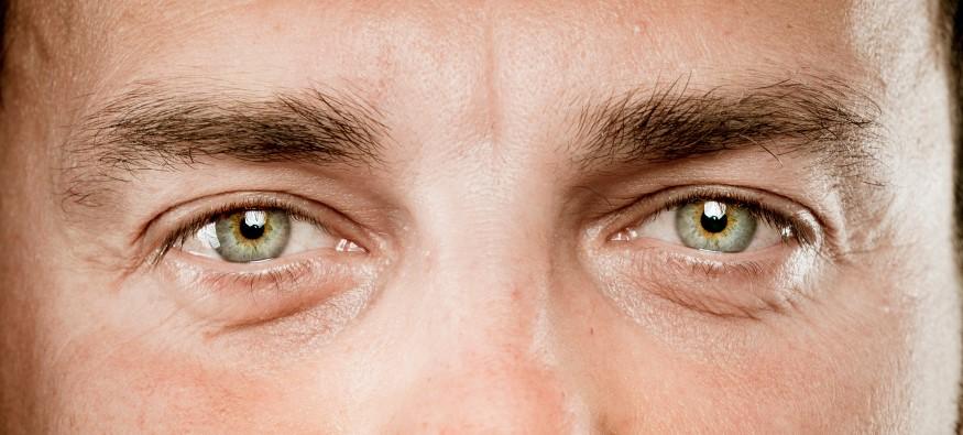 What determines eye colour?