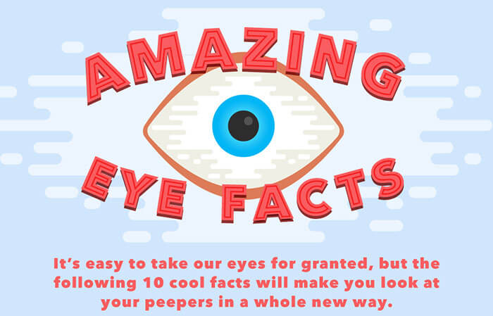 10 Amazing Eye Facts from Feel Good Contacts