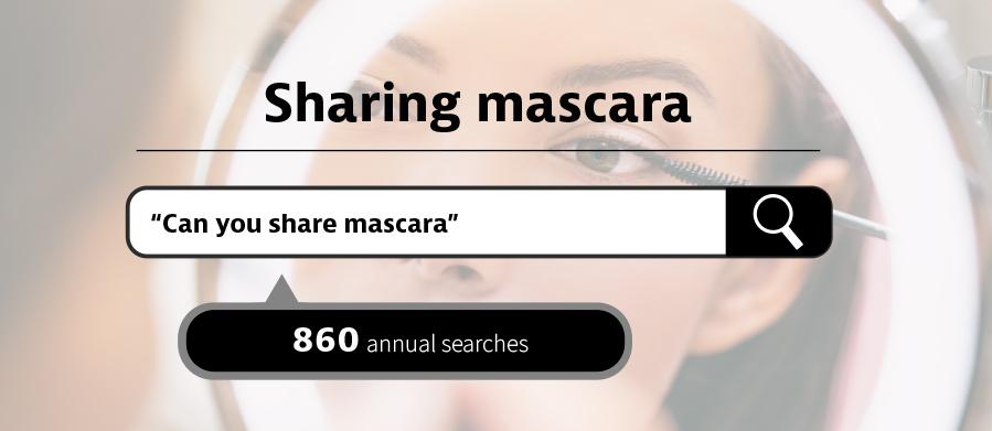 can you share mascara