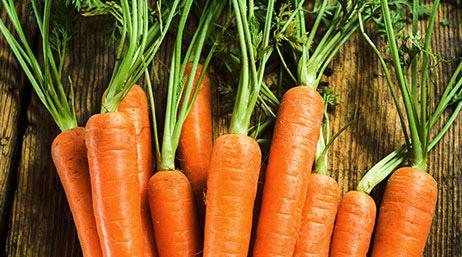eating carrots help see in dark
