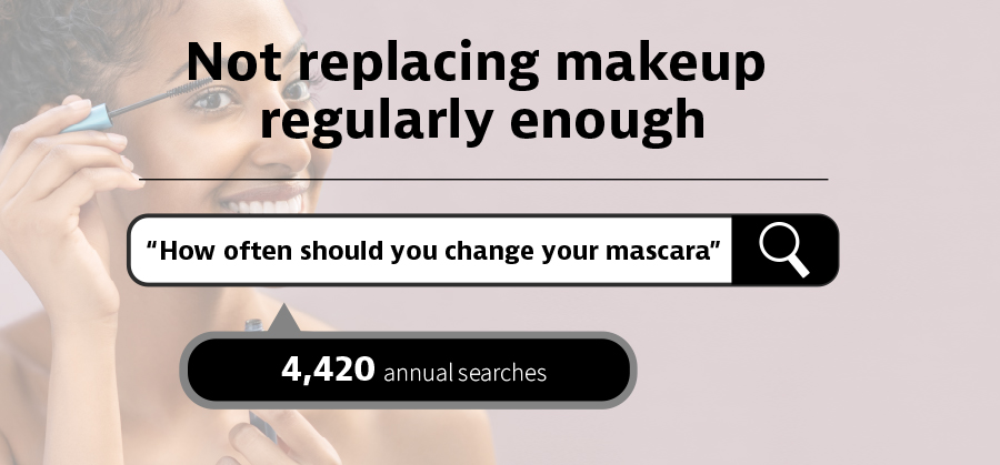how often should you change your mascara