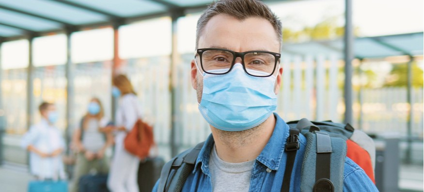 Foggy glasses: How to wear a face mask with your glasses