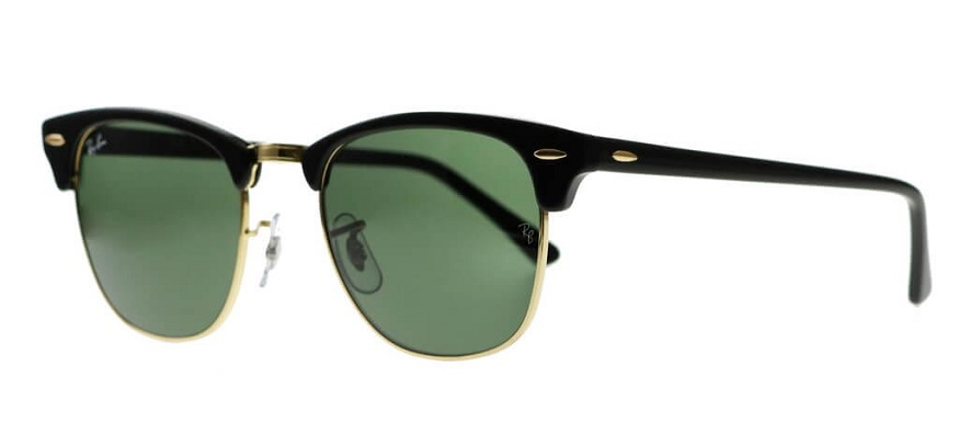black clumbaster sunglasses by Ray Ban