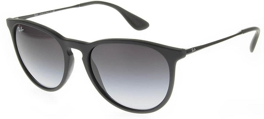 black ray ban erika sunglasses