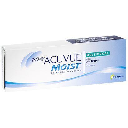 1 Day Acuvue Moist Multifocal lenses