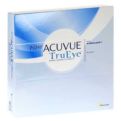 1 Day Acuvue TruEye (90 Pack) Contact Lenses