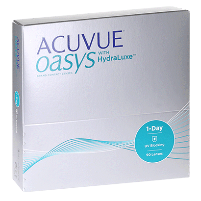 Acuvue Oasys 1-Day with HydraLuxe (90 Pack) Contact Lenses