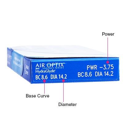Air Optix Plus HydraGlyde (6 Pack) Box