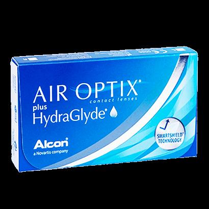 Air Optix Plus HydraGlyde (6 Pack) Contact Lenses