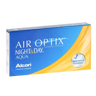 Air Optix Night & Day Aqua (6 Pack) Contact Lenses