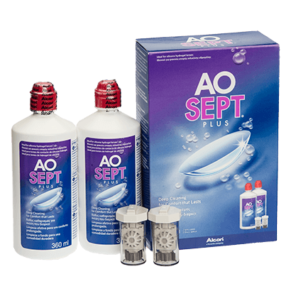 AOsept Plus HydraGlyde Twin Pack
