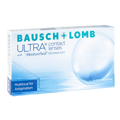 Bausch & Lomb Ultra Multifocal for Astigmatism (6 Pack) Contact Lenses