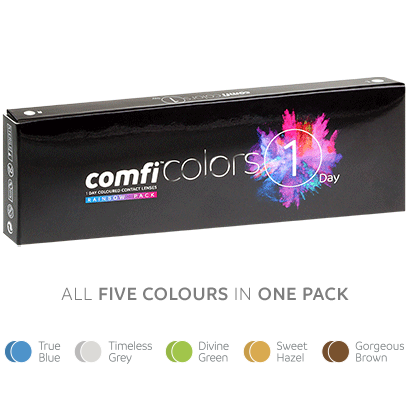 comfi Colors 1 Day Rainbow Pack