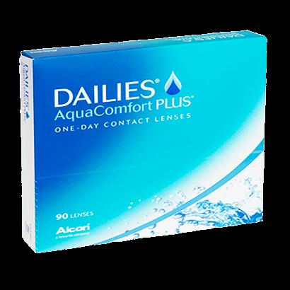 Dailies AquaComfort Plus (90 Pack) Contact Lenses