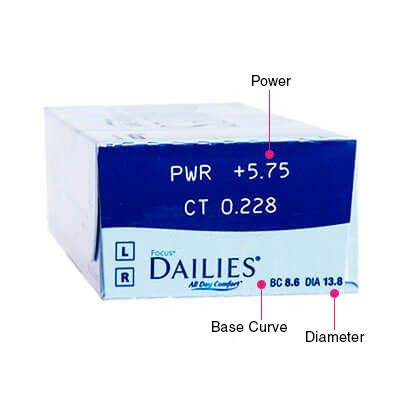 Focus Dailies All Day Comfort Box