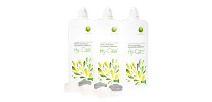 Hy-Care Lens Solution - 250ml Triple Pack