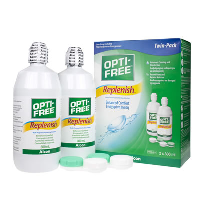 Opti-Free RepleniSH Twin Pack