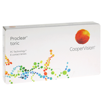 Proclear Toric (6 Pack) Contact Lenses