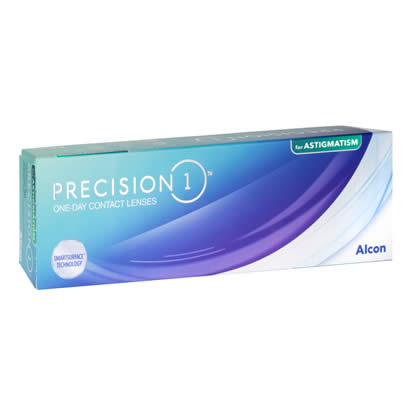 Precision 1 for Astigmatism Contact Lenses