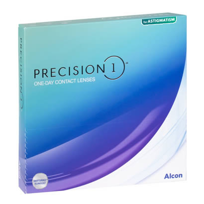 Precision 1 for Astigmatism (90 Pack) Contact Lenses