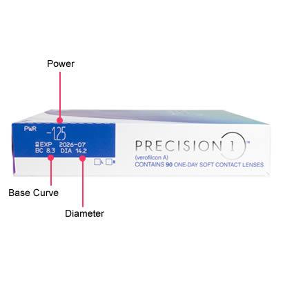Precision 1 Spherical (90 Pack) Box
