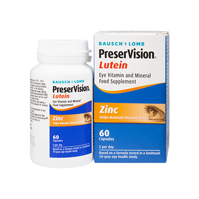 PreserVision Lutein Soft Gels (60 Softgels)