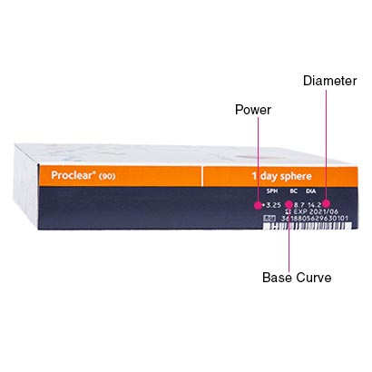 Proclear 1 Day (90 Pack) Box