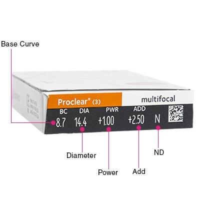 Proclear Multifocal Box