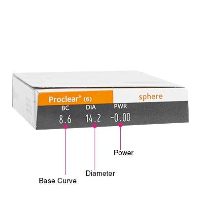 Proclear (6 Pack) Box