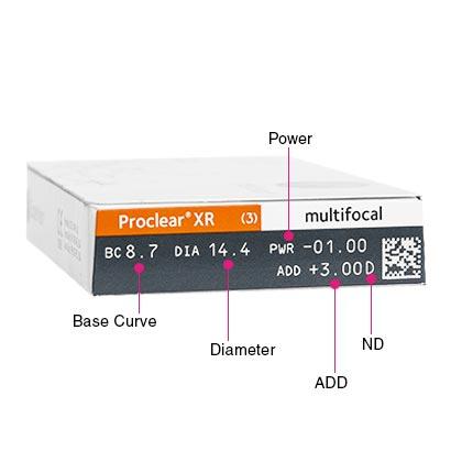 Proclear Multifocal XR Box