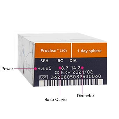Proclear 1 Day Box