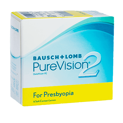 PureVision2 for Presbyopia (6 Pack) Contact Lenses