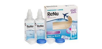 renu multipurpose solution flight pack