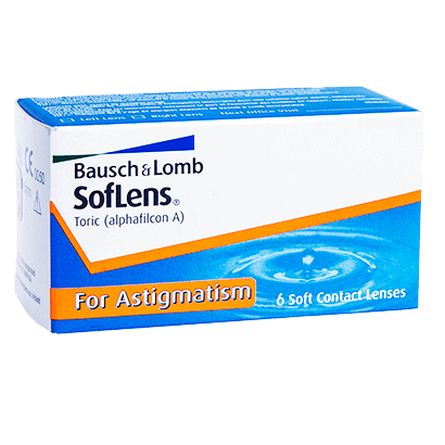 SofLens Toric 6 Pack Contact Lenses