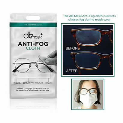 The AB Mask Anti-Fog Cloth