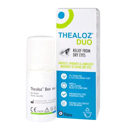 Thealoz Duo Eye Drops - 10ml