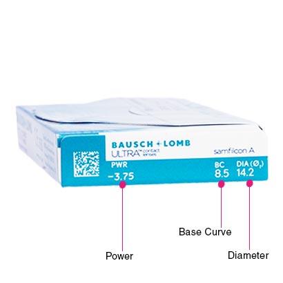Bausch & Lomb Ultra (6 Pack) Box