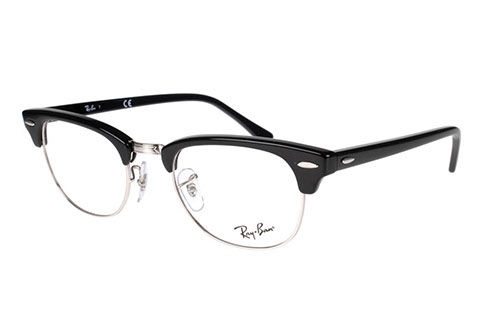 Ray-Ban Clubmaster RX5154 2000 49 Shiny Black