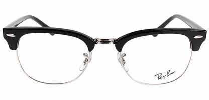Ray-Ban Clubmaster RX5154 2000 51 Shiny Black