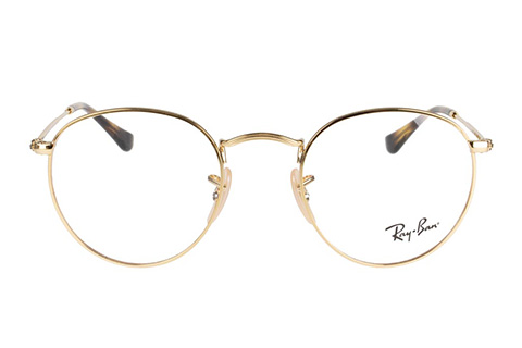 Ray-Ban Round Metal RX3447V 2500 47 Gold