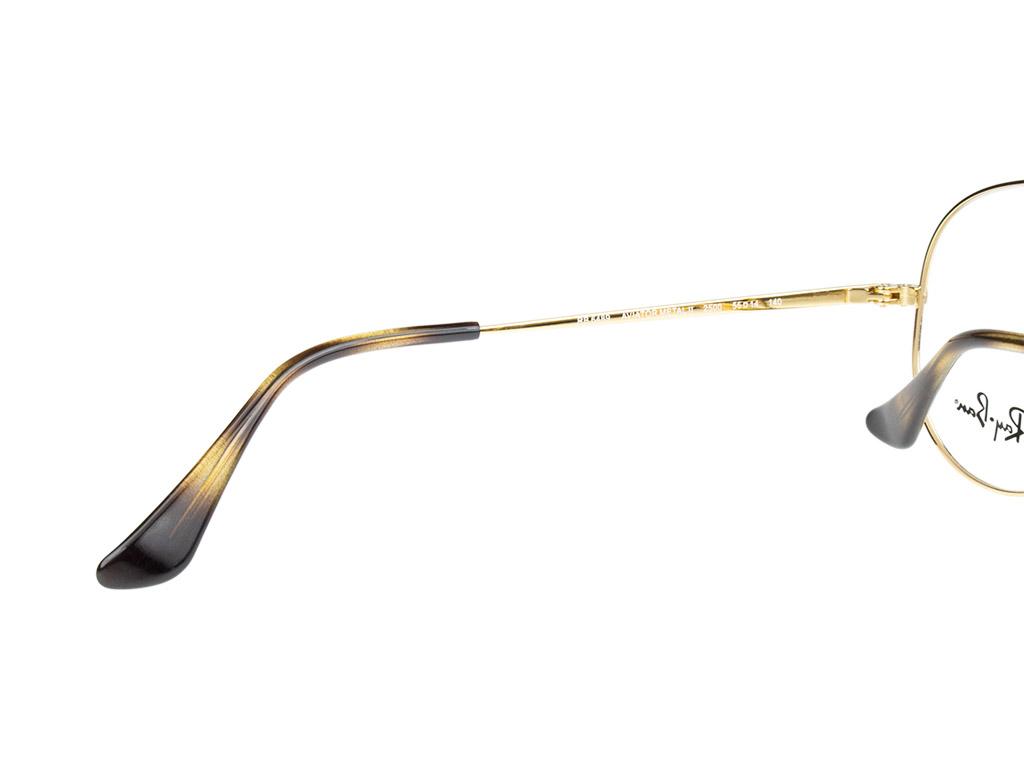 Ray-Ban Aviator RX6489 2500 55 Gold