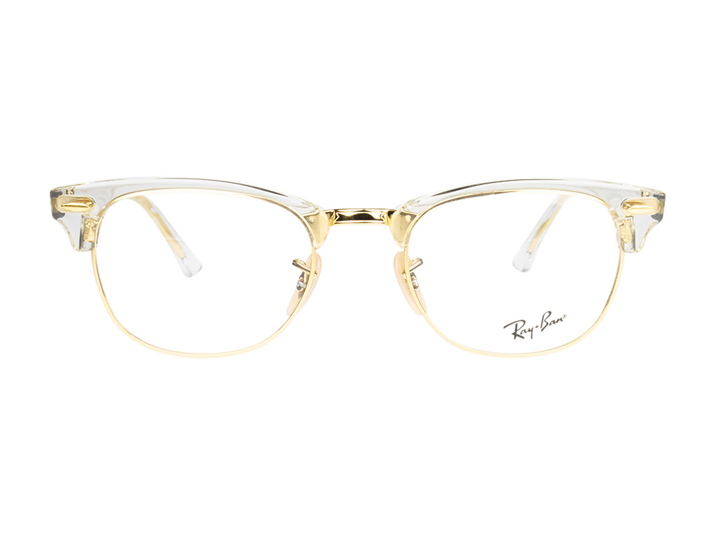 Ray-Ban Clubmaster RX5154 5762 51 Transparent