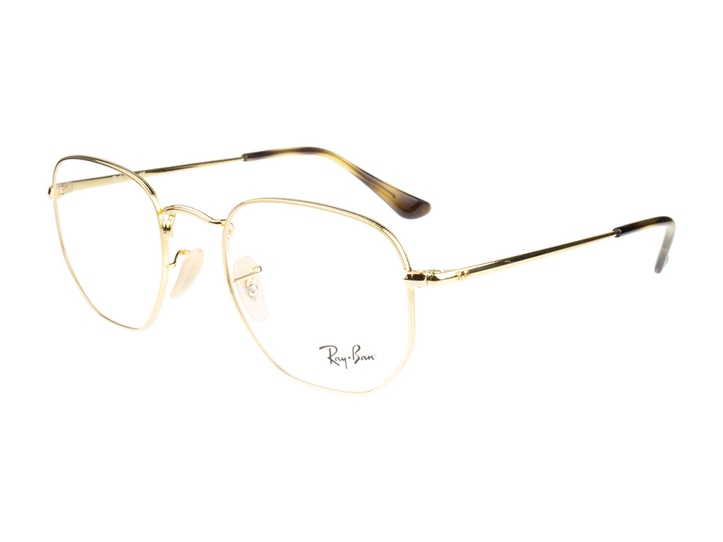 Ray-Ban Hexagonal RX6448 2500 51 Gold