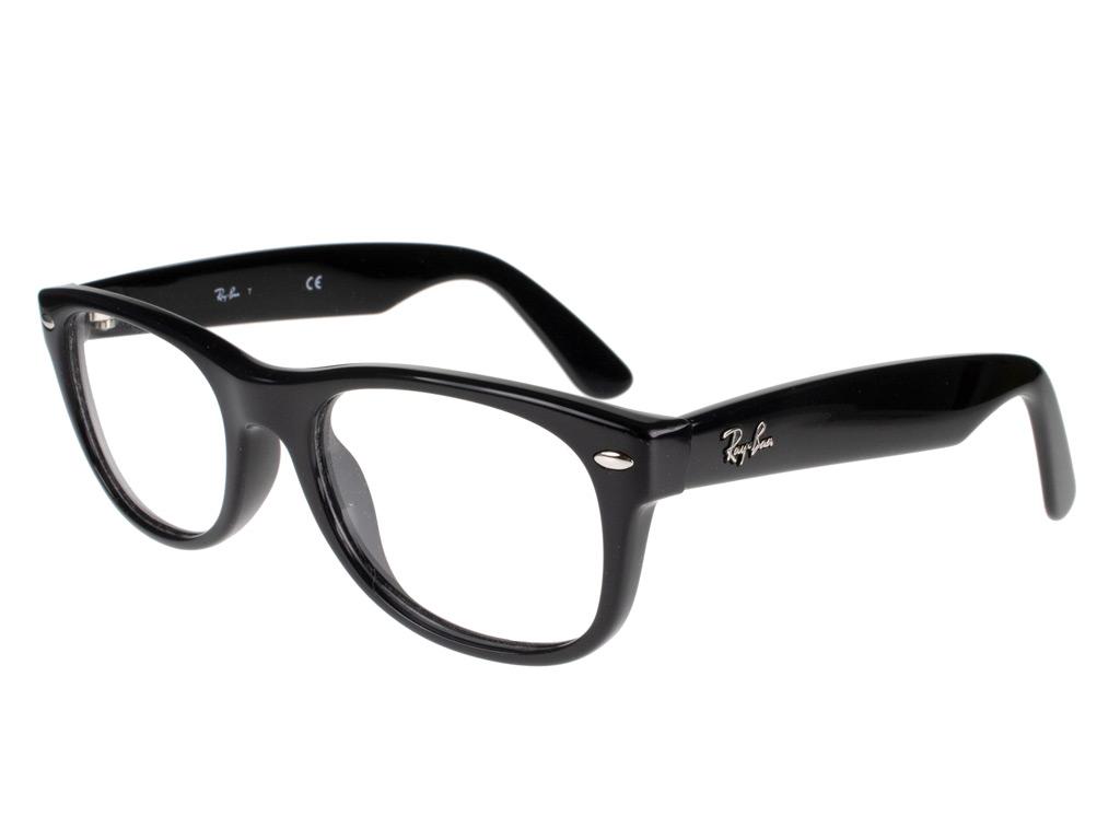 Ray-Ban New Wayfarer RX5184 2000 50 Shiny Black