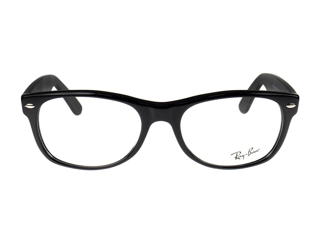 Ray-Ban New Wayfarer RX5184 2000 54 Shiny Black