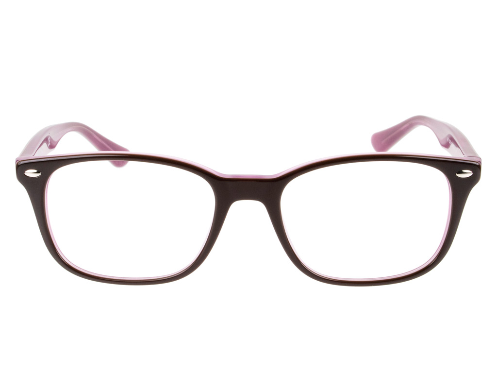 Ray-Ban RX5375 2126 53 Top Brown On Opal Pink