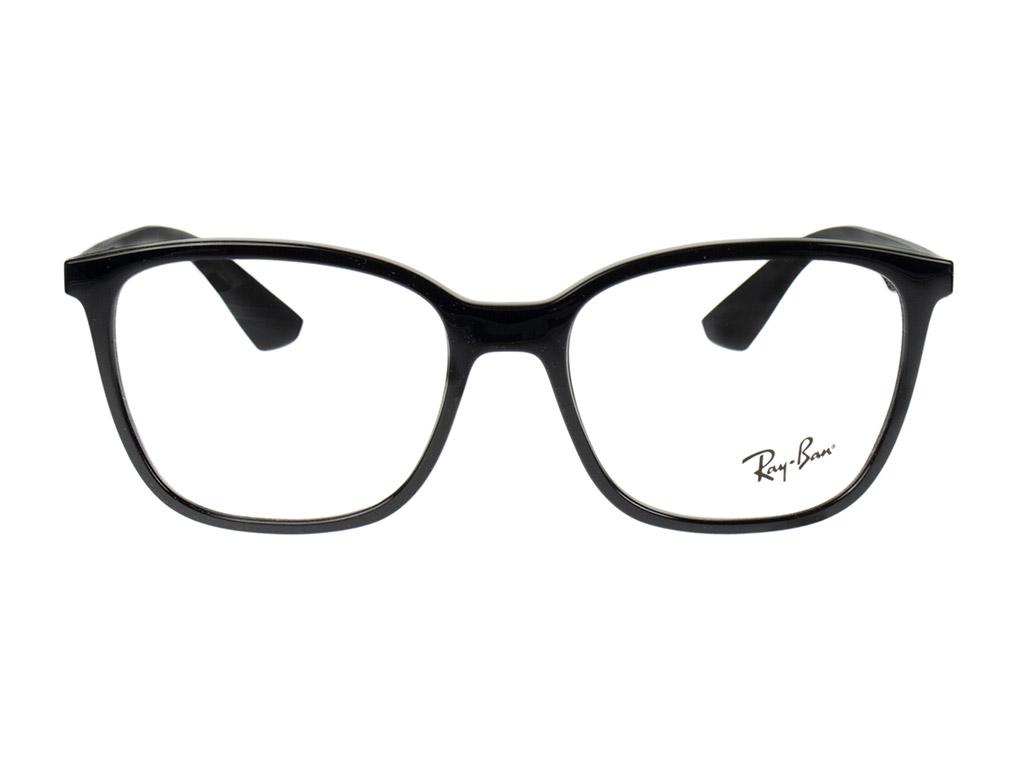 Ray-Ban RX7066 2000 54 Shiny Black