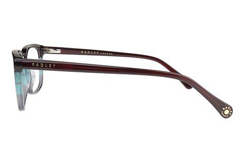 Radley RDO Verity 107 Burgundy/Teal/Grey